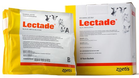 Lectade Sachets- An aid in the treatment of scours (Diarrhoea) in calves, lambs, kids, piglets and horses