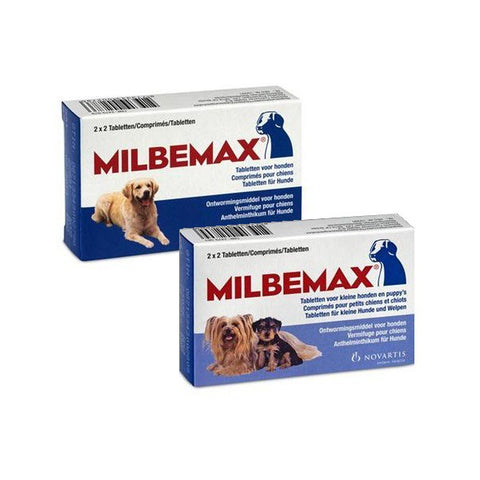 Milbemax is used to treat mixed infections of adult cestodes and nematodes in puppies and dogs
