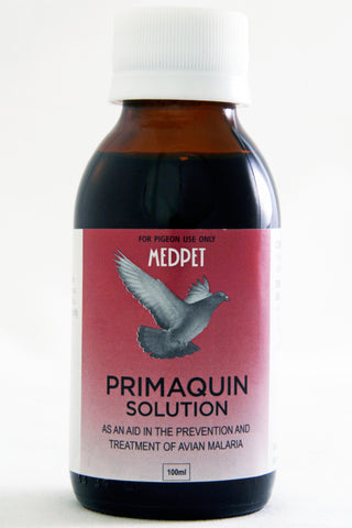 Primaquin Solution- As in aid in prevention and treatment of avian Malaria