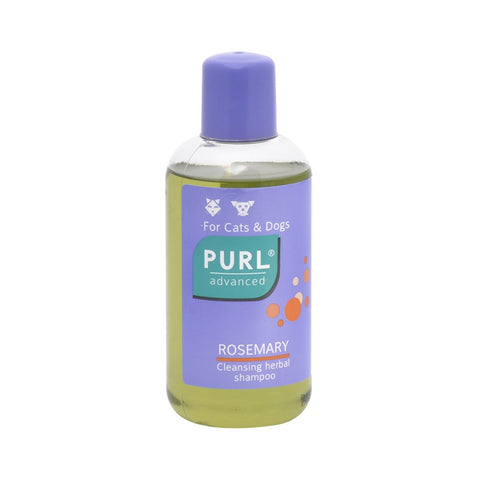 Purl Advanced Rosemary is a cleansing herbal shampoo for both dogs and cats