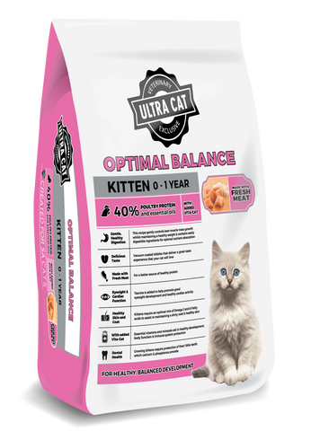 Ultra Cat Optimal Balance Kitten Food