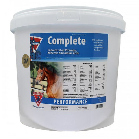 Equifox Complete Vitamins, minerals and Amino Acids (5kg) in Horses