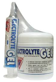 Equifox Electrolyte Gel- A balance electrolyte supplement ,specifically for administration before or during a race