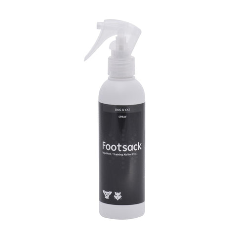 Footsack is a training aid for dogs and cats - designed as an aid to break pets of undesirable habits both indoors and outdoors