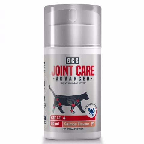 GCS Joint Care Advanced gel for cats is a proprietary blend of 6 active ingredients which work together to support joint health in cats