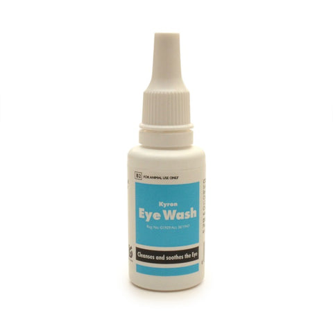 Kyron Eye Wash cleanses and soothes the eye, and is an aid in the examination of the eye.
