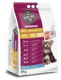 Ultra Dog Superwoof Small-Medium Adult Chicken