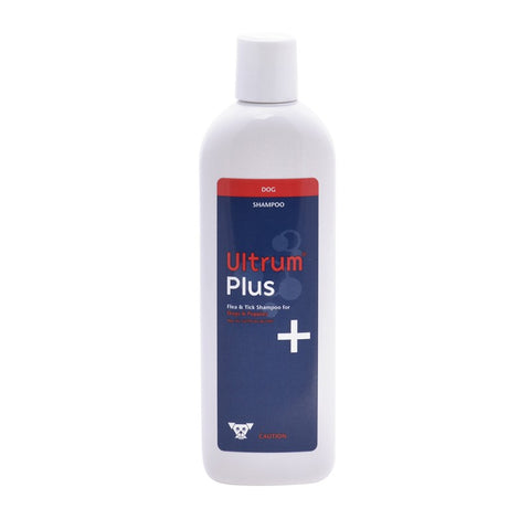 Ultrum Plus shampoo- kills flea and tick , for dogs only.