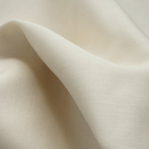 Cream Organic Sateen