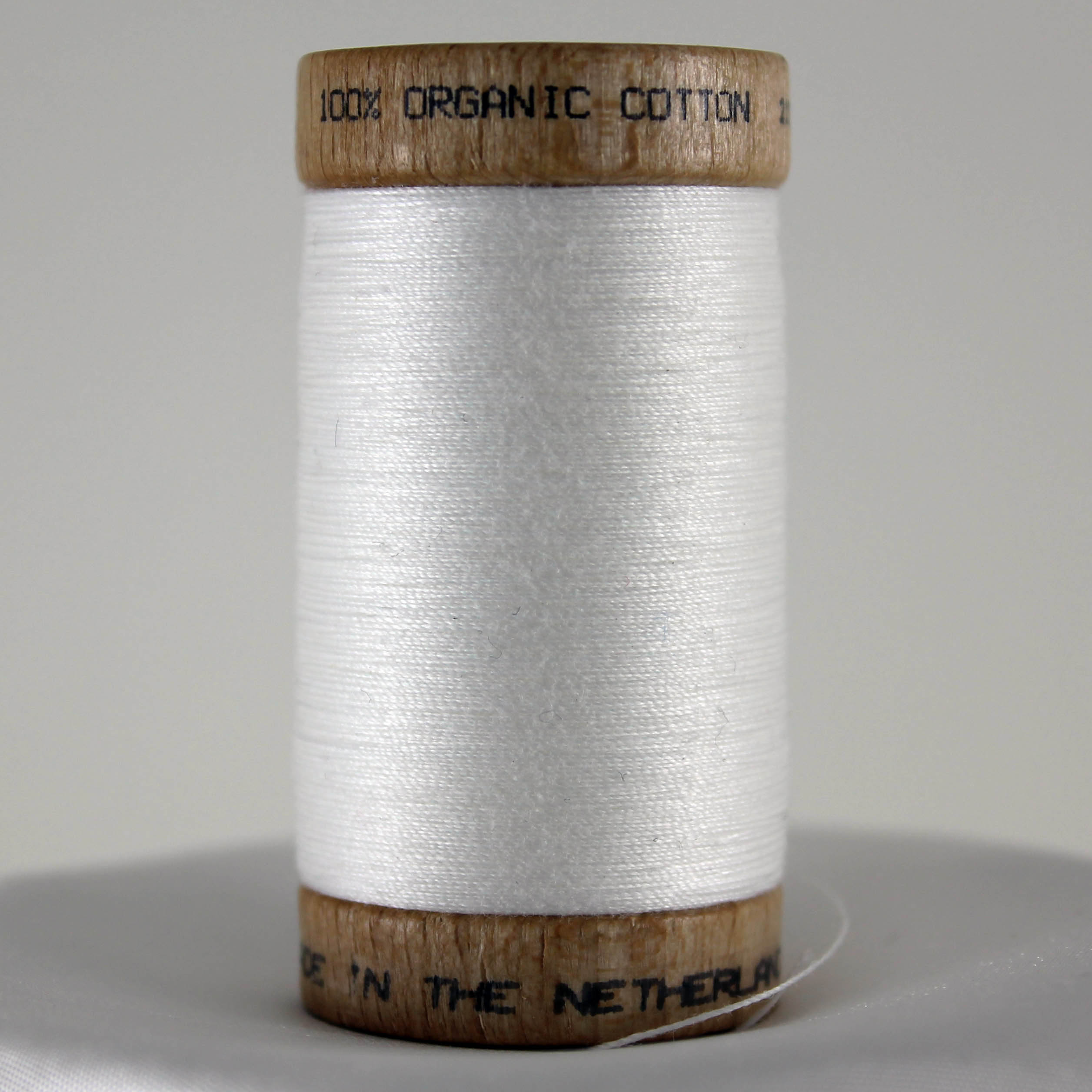 Organic Cotton Thread - White