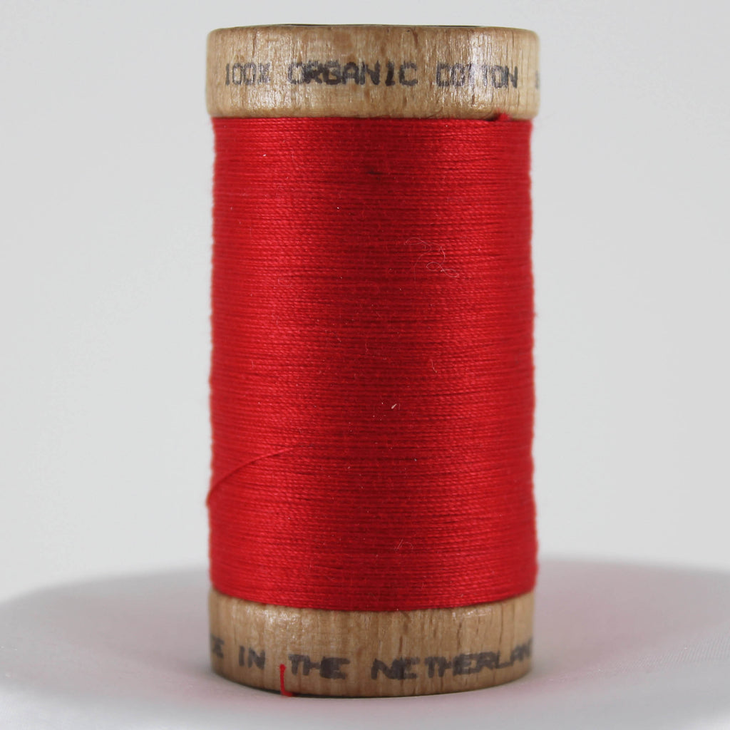 Organic Cotton Thread - Scarlet