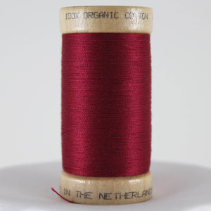 Burgundy Organic Cotton Thread