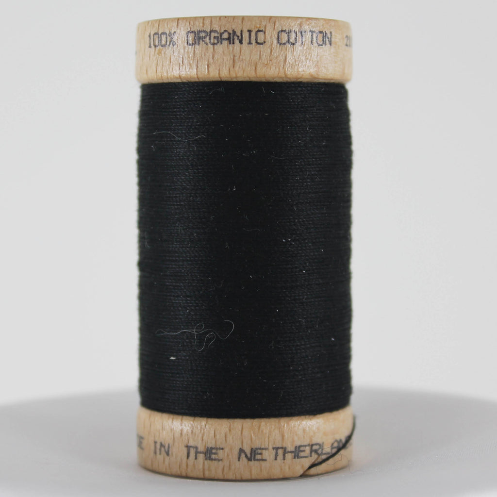 Organic Cotton Thread - Black