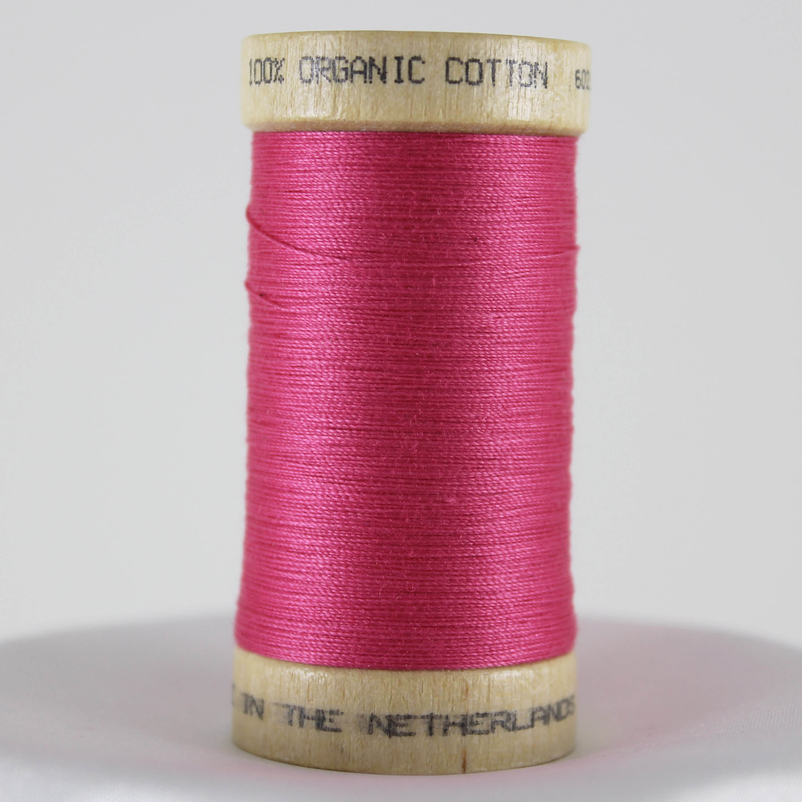 Carnation Pink Organic Cotton Thread