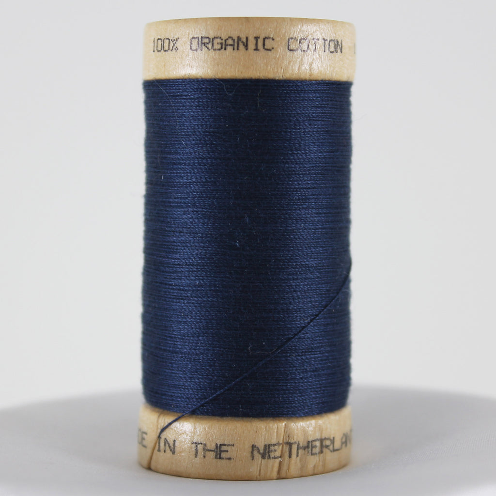 Organic Cotton Thread - Indigo