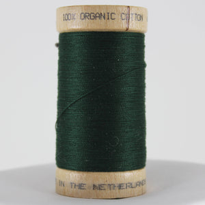 Organic Cotton Thread - Bottle Green