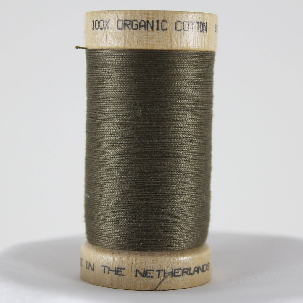 Organic Cotton Thread - Khaki Green