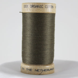 Khaki Green Organic Cotton Thread