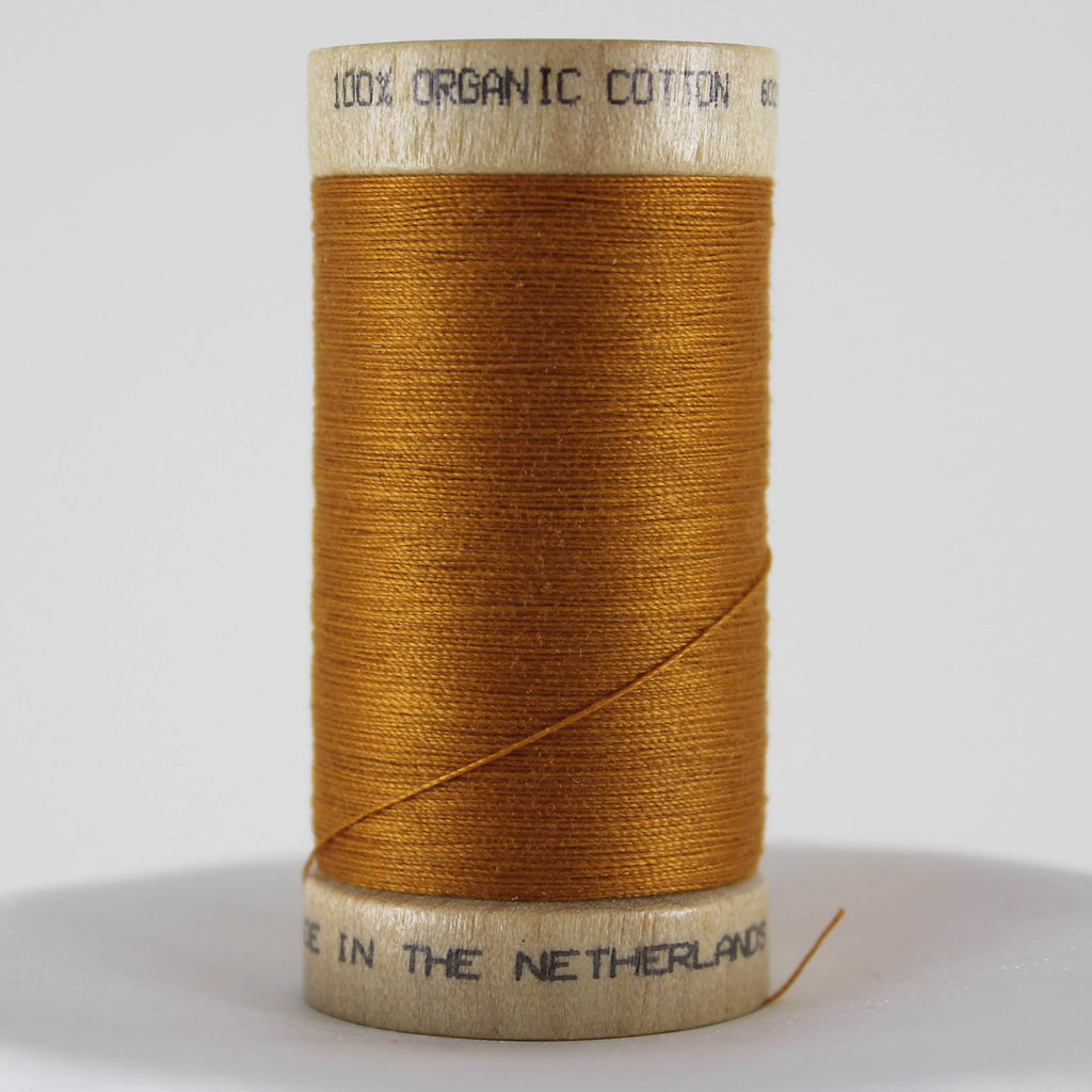 Organic Cotton Thread - Ochre