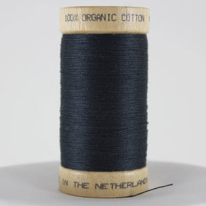 Organic Cotton Thread - Dark Grey 300yds