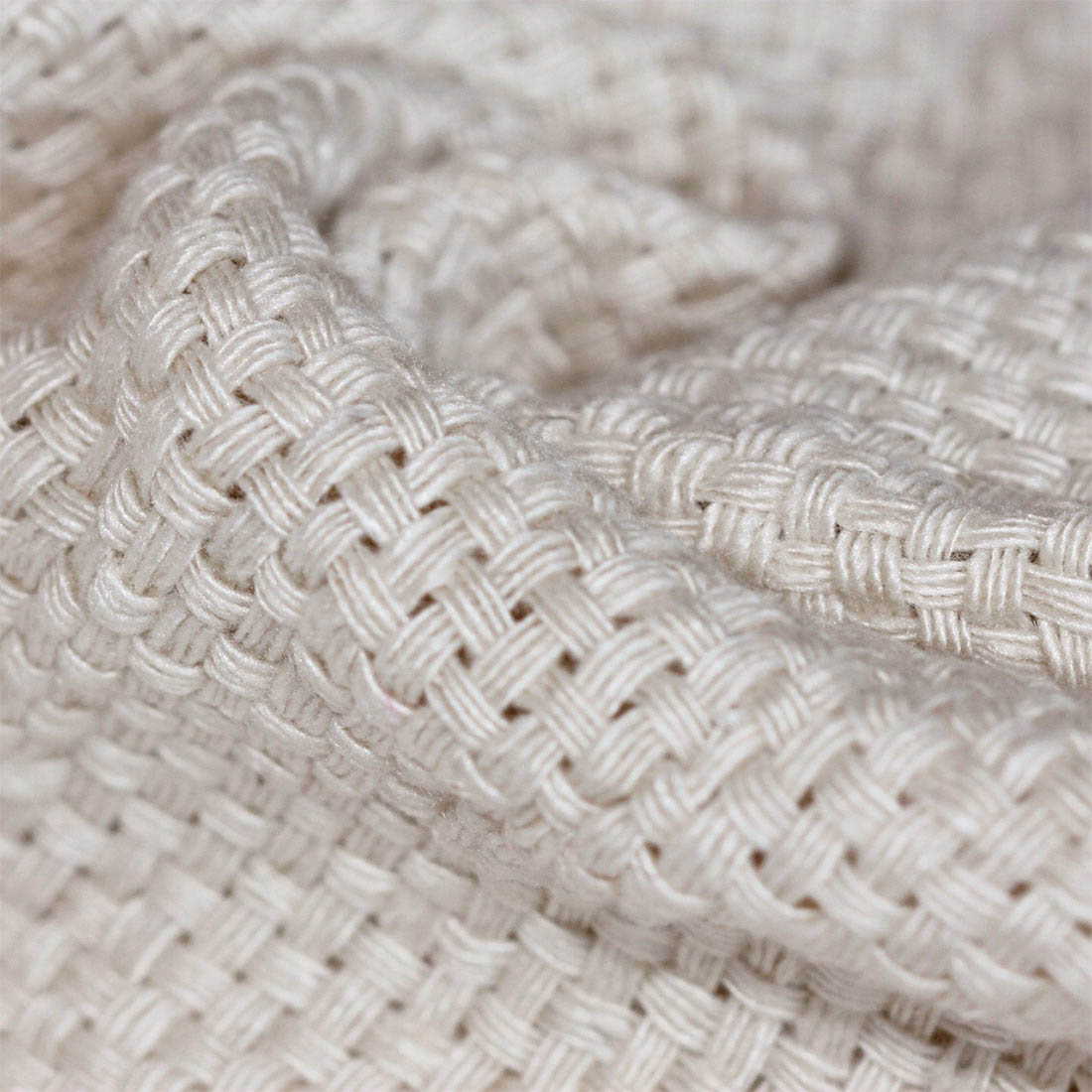 Thick Basket Weave Banana Fabric