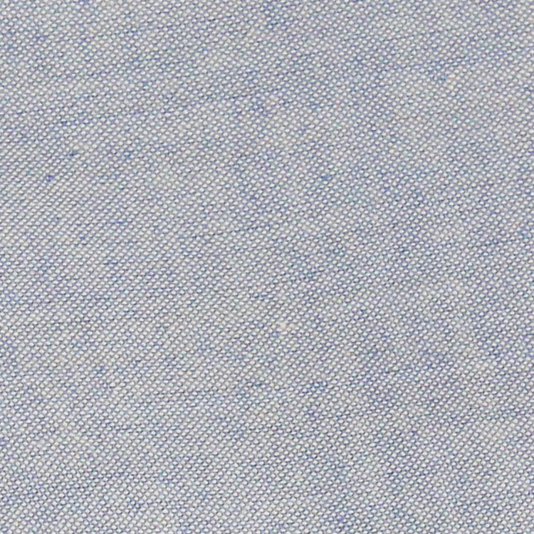 Organic Powder Blue Hand Woven Crossweave