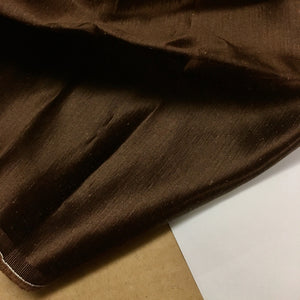 Mocha Hemp Silk Charmeuse
