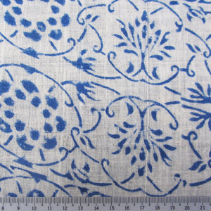 Organic Tree Of Life Hand Block Cotton Muslin