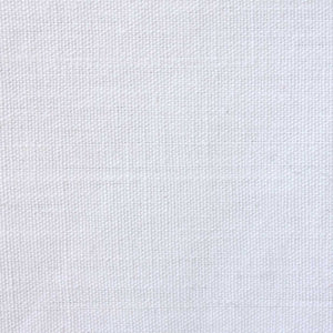 Organic White Mediumweight Basket Weave Cotton