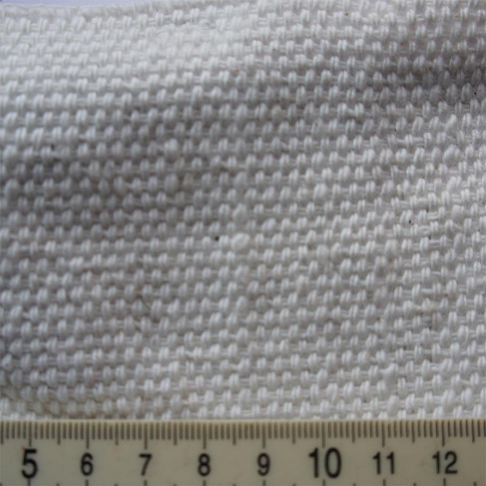 Thick White Basket Weave Cotton
