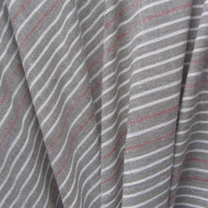 Striped Pistachio Green Organic Chambray