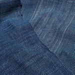 Textured & Striped Handwoven Blue Crossweave