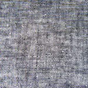 Black & White Ramie Crossweave