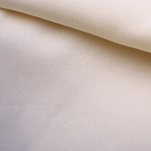REMNANT: Undyed Organic Cotton Sateen