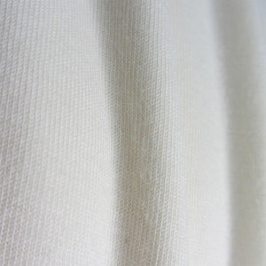 Cream Undyed Organic Single Jersey