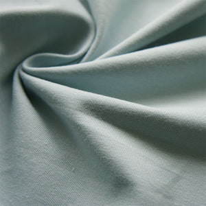 Ice Blue Organic Cotton Jersey