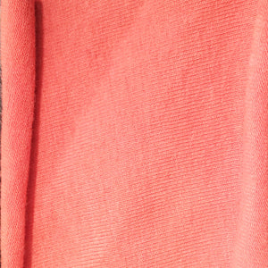 Coral Organic Cotton Jersey