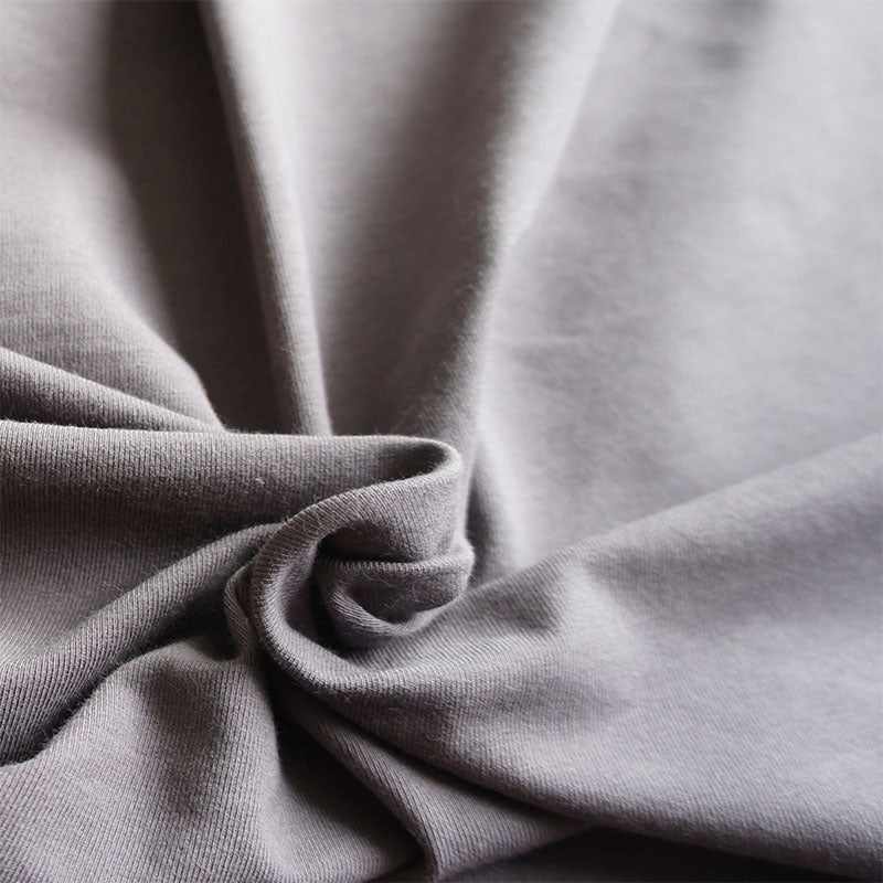 Grey Organic Cotton Jersey