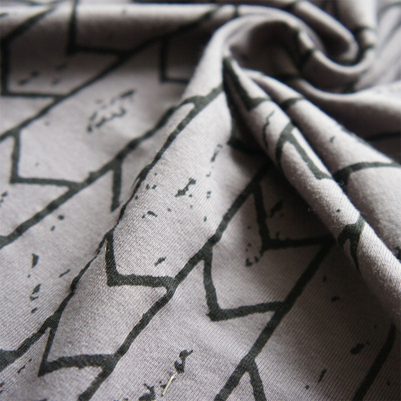 Grey Arrows Organic Cotton Jersey