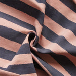 Rough Stripes Organic Cotton Jersey