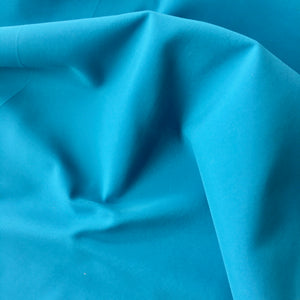 Turquoise Recycled Polyester Satin
