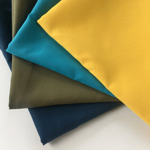 Mustard Recycled Polyester Satin
