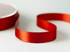 Ruby Red Lyocell Ribbon - 12mm