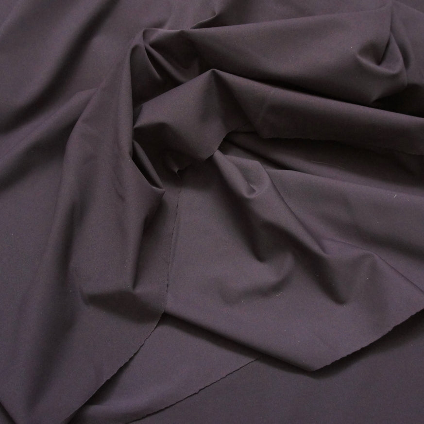 Stretch ECONYL® Renew Cult Recycled Nylon - Chocolate