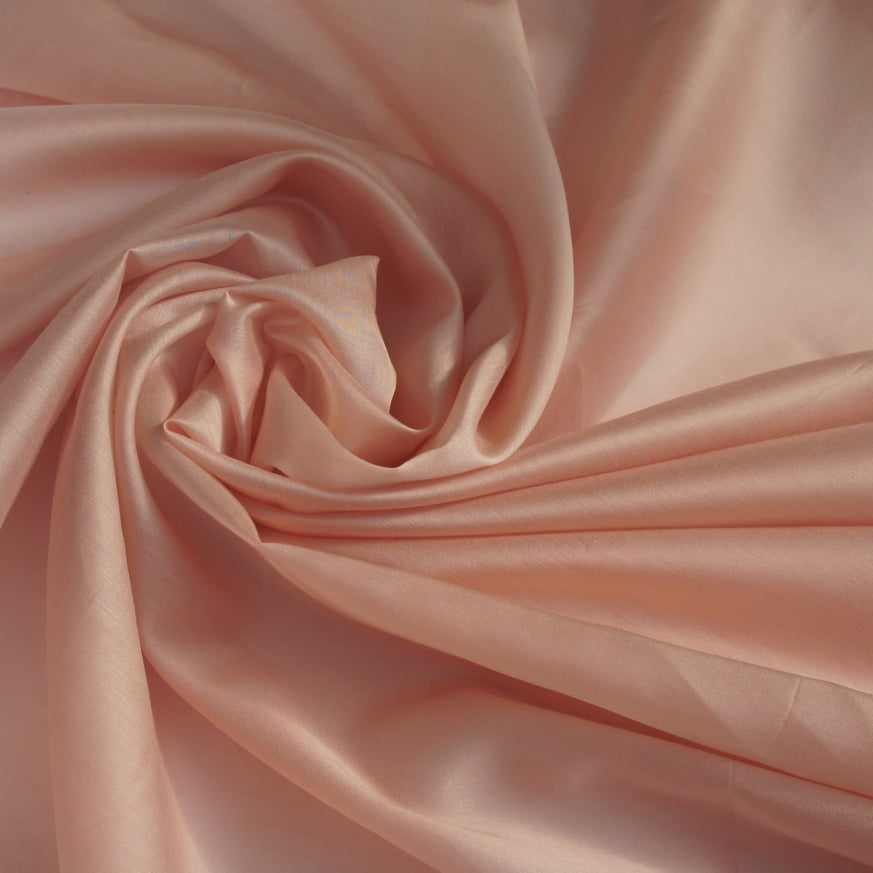 Recycled Polyester Tencel Organza - Dusty Pink