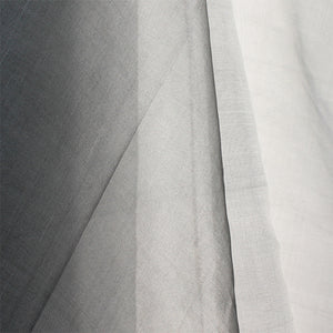 Fair Trade Grey Silk Organza