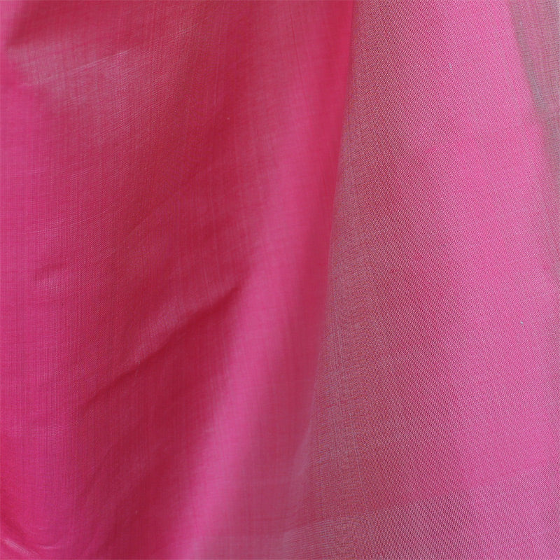 Fair Trade Carnation Pink Silk Taffeta