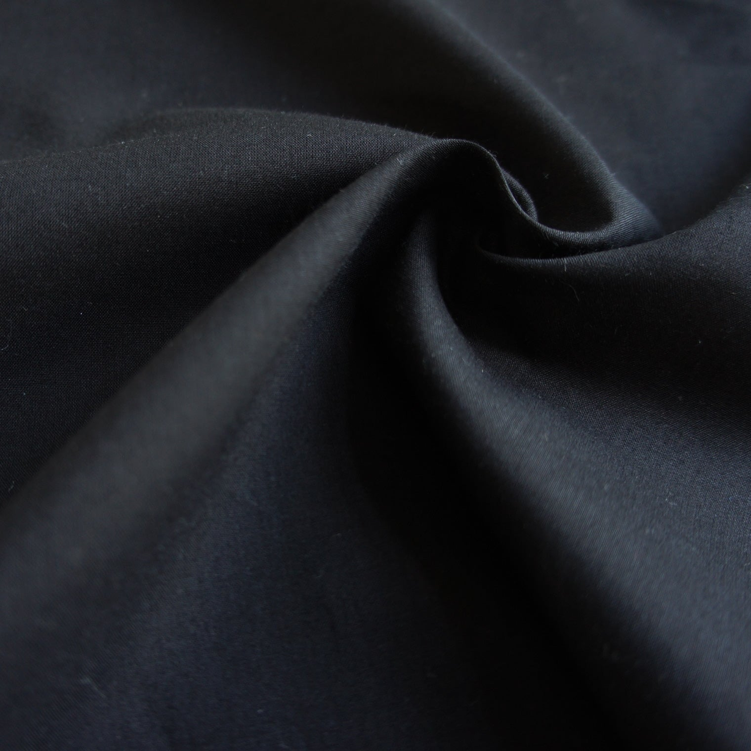 Lightweight Black Organic Cotton