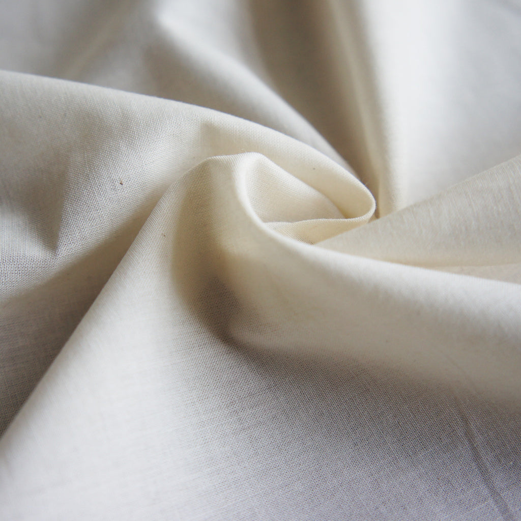 REMNANT: Lightweight Cream Organic Cotton