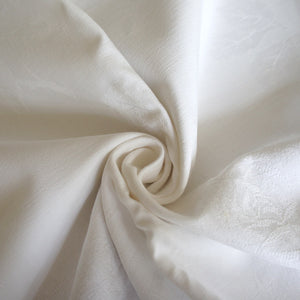 White Medium Weight Jacquard Weave